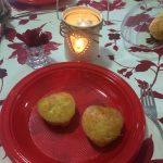 #SanValentinoFuorisede … Cuoricini di suffle al formaggio