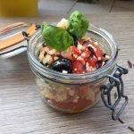 Cous Cous etnico con olive greche e mix di alghe CerretoBio