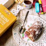 Salame di cioccolato gluten free con nocciole e taralli