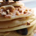 Pancakes con mirtilli