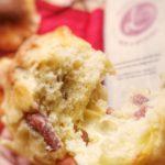 Muffin al Latte con Scamorza e Salsiccia