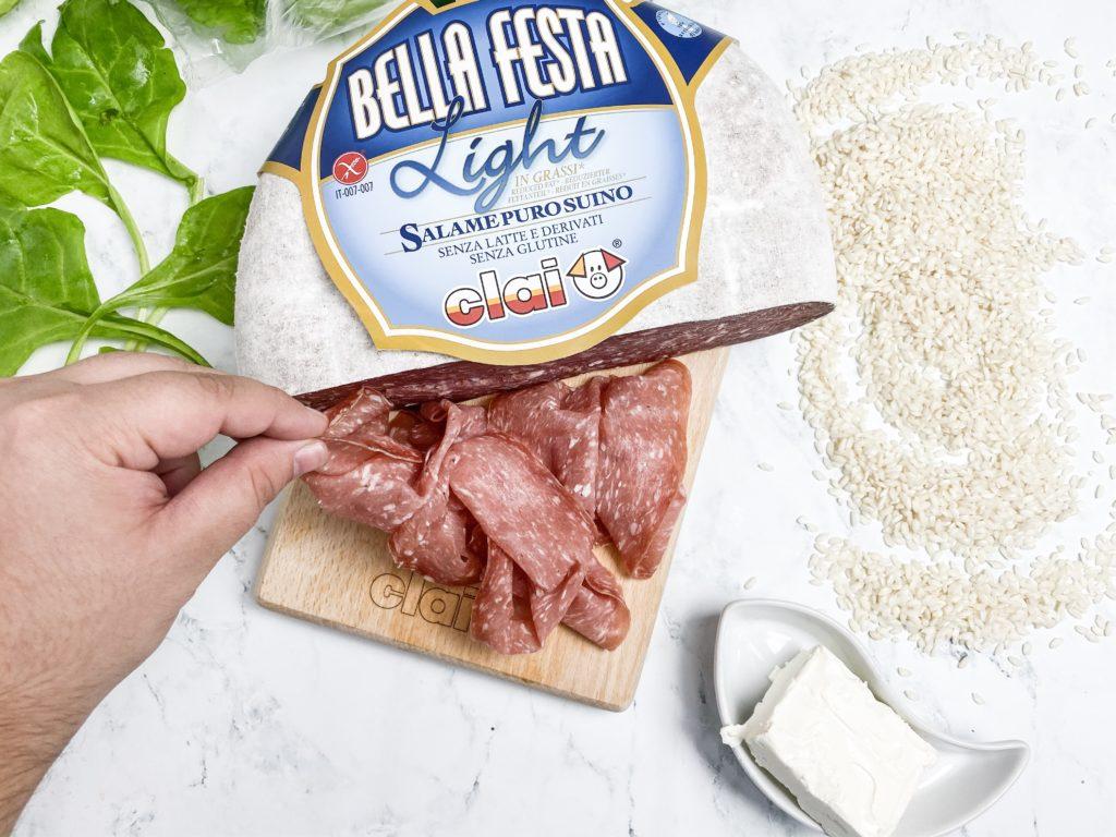 salame bellafesta light clai
