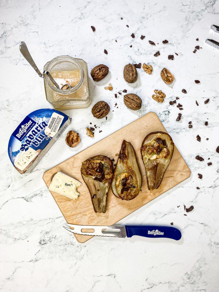 Pere al forno Bavaria blu