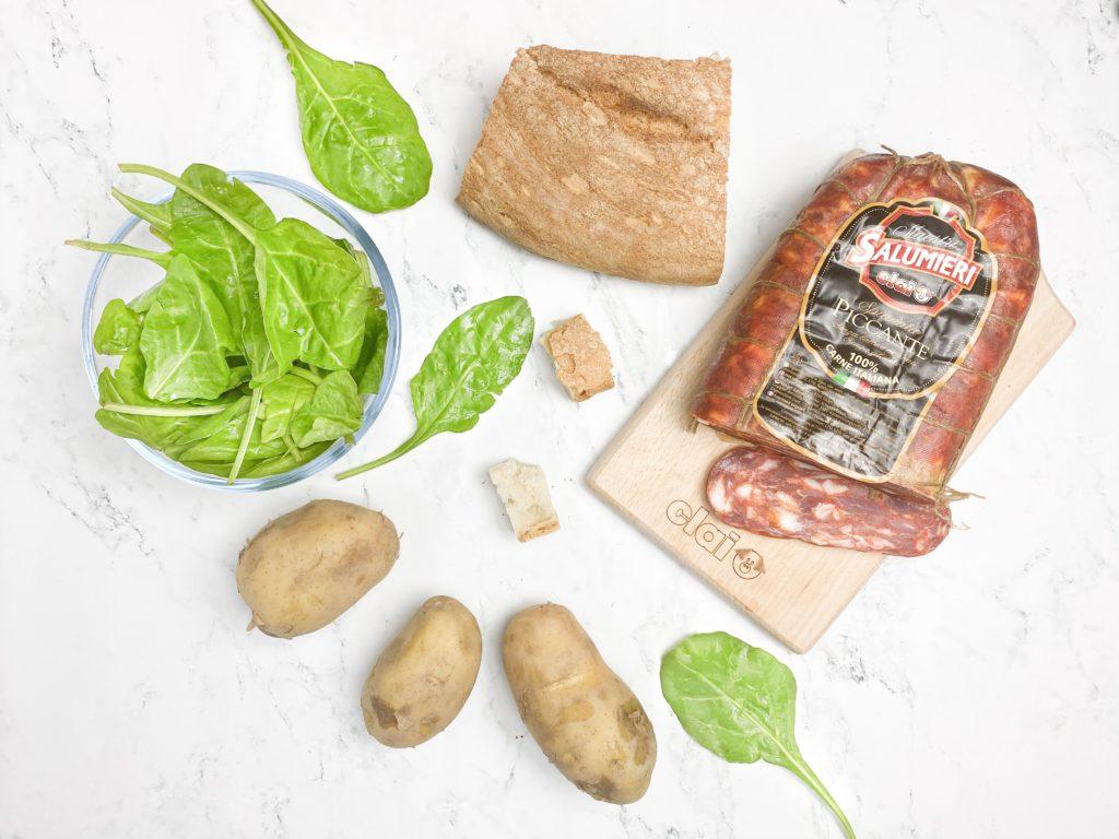 ingredienti Pancotto con Spianata Piccante