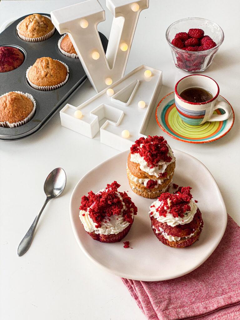 muffin red velvet